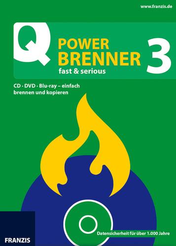 Verpackung von Power Brenner 3 [PC-Software]