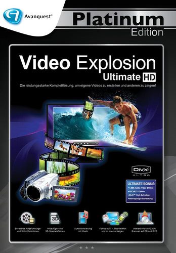 Video Explosion Ultimate – Avanquest Platinum Edition (Download), PC