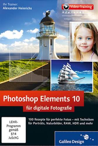 Verpackung von Photoshop Elements 10 für digitale Fotografie [PC-Software]