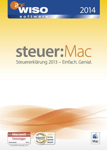 Verpackung von WISO steuer:Mac 2014 (für Steuerjahr 2013) [Mac-Software]