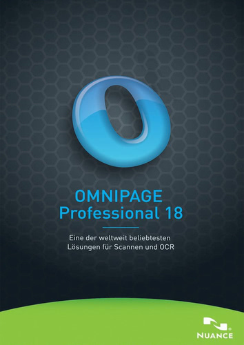 Omnipage 18 Professional Upgrade von OP15/16/17 – Pro, Standard und SE, ESD (Download) (PC)