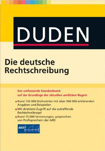 Verpackung von Duden Die deutsche Rechtschreibung [Mac-Software]