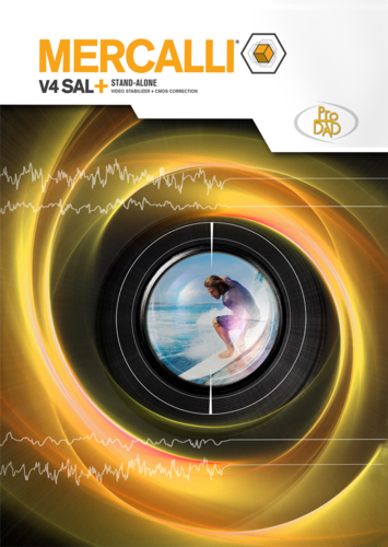 Verpackung von Mercalli V4 SAL+ (Version 2017) [PC-Software]