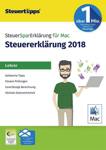 Verpackung von SteuerSparErklärung Lehrer 2019 MAC (für Steuerjahr 2018) [Mac-Software]