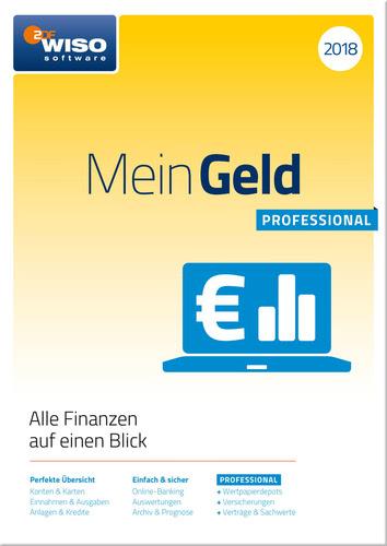 Verpackung von WISO Mein Geld Professional 2018 [PC-Software]
