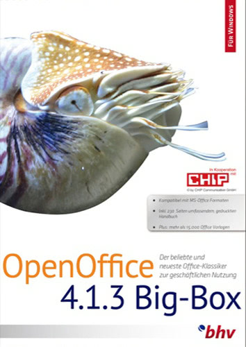 OpenOffice 4.1.3 BigBox (Download), PC
