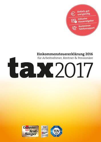 Verpackung von tax 2017 [PC-Software]