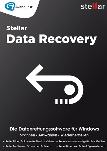 Stellar Windows Data Recovery 8 Standard (Download), PC