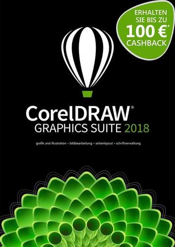 Verpackung von CorelDRAW Graphics Suite 2018 Upgrade [PC-Software]