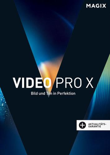 Verpackung von Magix Video Pro X (2017) [PC-Software]