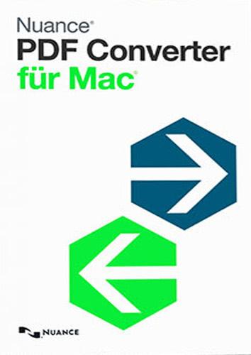 Verpackung von Nuance PDF Converter für Mac 6.0 [Mac-Software]