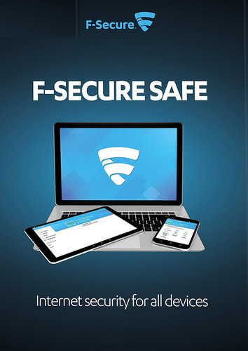 Packaging by F-Secure SAFE Internet Security 2018 1 device / 12 months [MULTIPLATFORM]