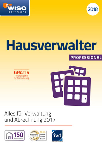 WISO Hausverwalter 2018 Professional (Download), PC