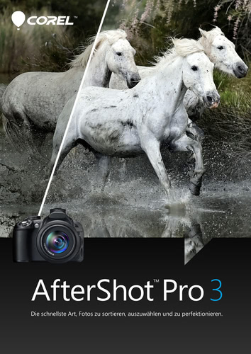 Verpackung von Corel AfterShot Pro 3.0 [Mac-Software]