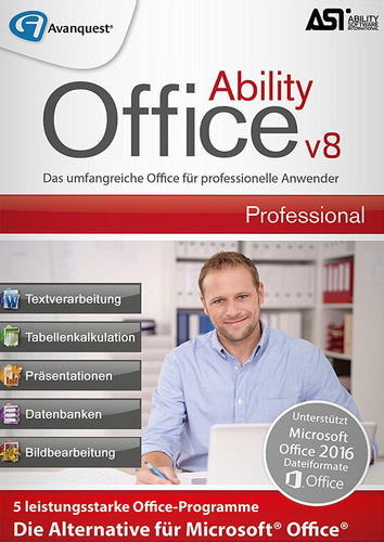 Verpackung von Ability Office 8 Professional [PC-Software]