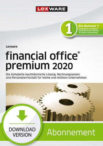 Verpackung von Lexware financial office 2020 premium - Abo-Version [PC-Software]