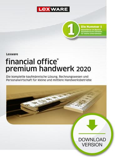 Verpackung von Lexware financial office 2020 premium handwerk - Jahresversion (365-Tage) [PC-Software]