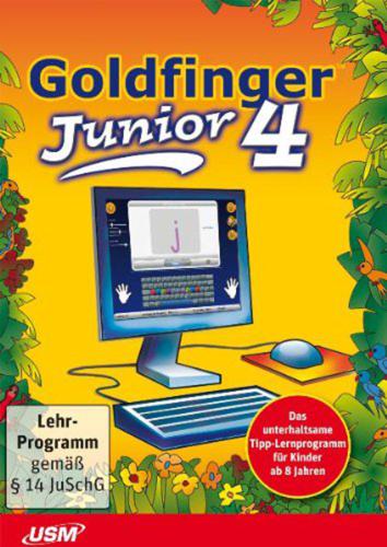 Verpackung von Goldfinger Junior 4 [PC-Software]