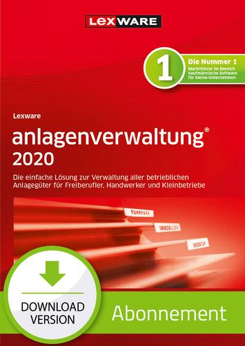 Verpackung von Lexware anlagenverwaltung 2020 - Abo Version [PC-Software]