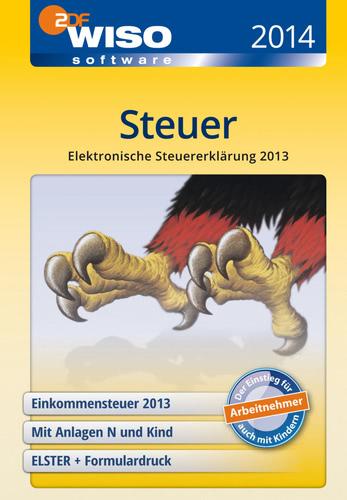 Verpackung von WISO Steuer 2014 (für Steuerjahr 2013) [PC-Software]