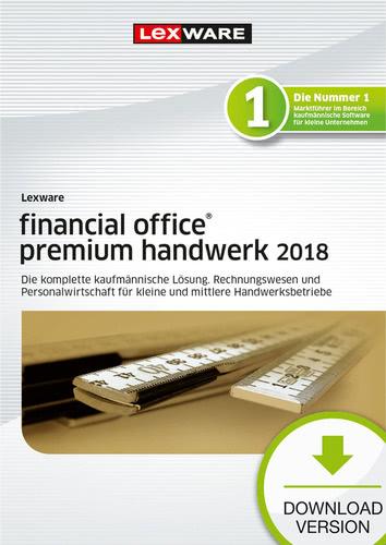 Verpackung von Lexware financial office premium handwerk 2018 Jahresversion (365-Tage) [PC-Software]