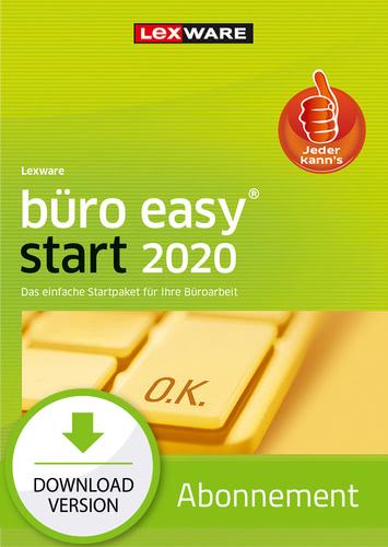 Lexware büro easy start 2020 – Abo Version (Download), PC