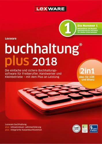 Verpackung von Lexware buchhaltung plus 2018 Jahresversion 365-Tage [PC-Software]