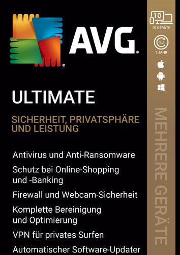 Verpackung von AVG Ultimate 2020 [MULTIPLATFORM]