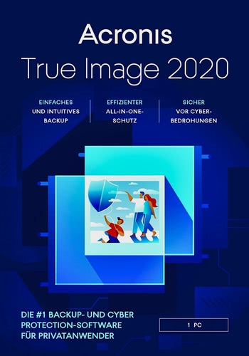 Verpackung von Acronis True Image 2020 [1 Gerät / 12 Monate] [PC-Software]