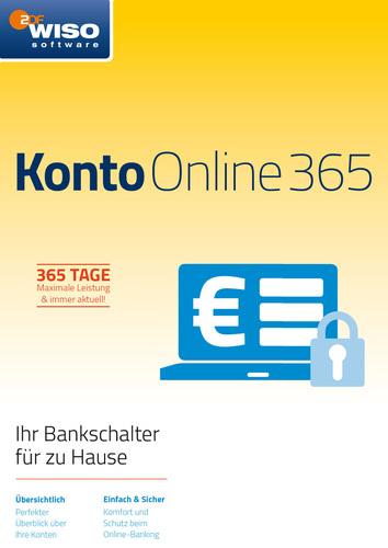 Verpackung von WISO Konto Online 365 Tage (Version 2018) [PC-Software]