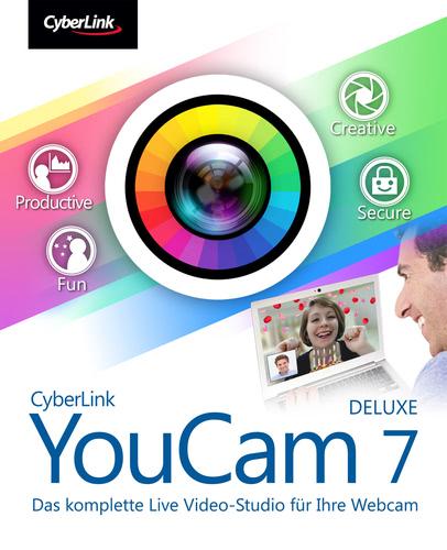 Verpackung von Youcam 7 Deluxe [PC-Software]
