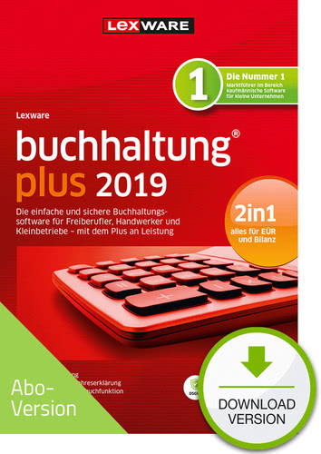 Lexware buchhaltung plus 2019 Download – Abo Version