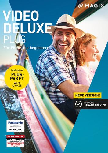 Verpackung von Magix Video Deluxe 2019 Plus [PC-Software]