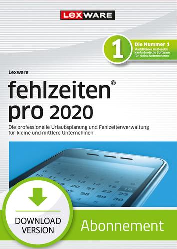 Lexware fehlzeiten 2020 pro – Abo-Version (Download), PC