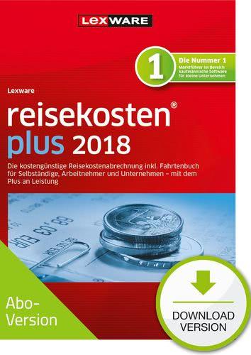 Verpackung von Lexware reisekosten plus 2018 Download - Abo Version [PC-Software]