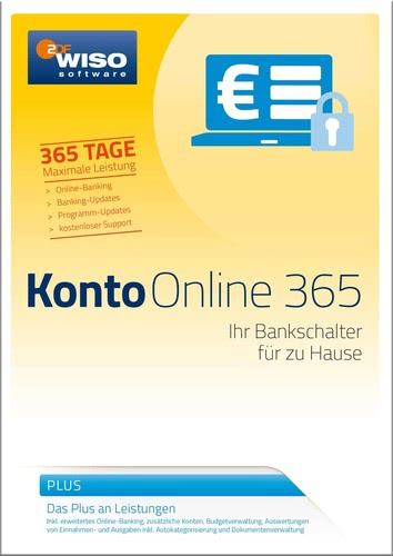 WISO Konto Online Plus 365 Tage (Version 2017), (Box), PC