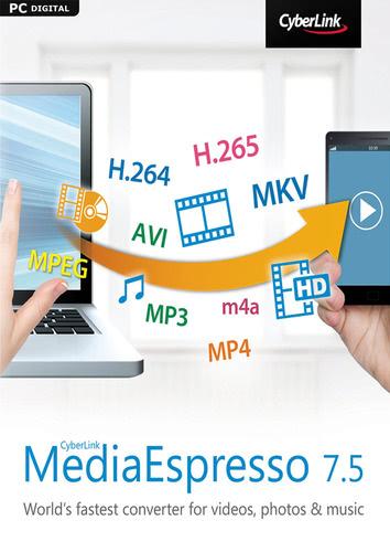 Packaging by CyberLink MediaEspresso 7.5 [PC-software]