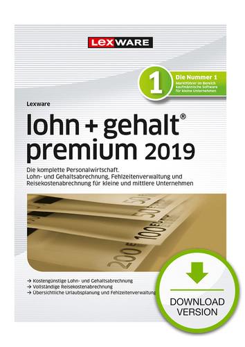 Verpackung von Lexware lohn+gehalt premium 2019 [PC-Software]