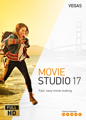 Verpackung von Vegas Movie Studio 17 [PC-Software]