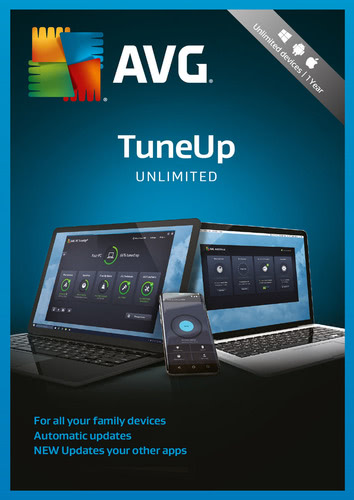 Packaging by AVG TuneUp 2018 Unlimited Devices / 24 months [MULTIPLATFORM]