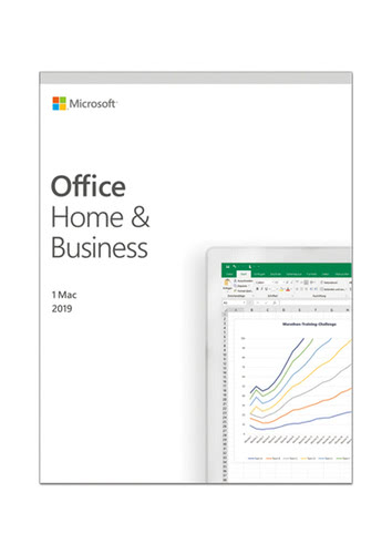 Verpackung von Microsoft Office Home & Business 2019 (MAC) [Mac-Software]