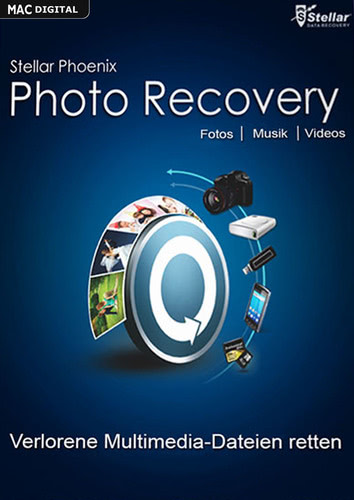 Stellar Phoenix Photo Recovery 6 für Mac