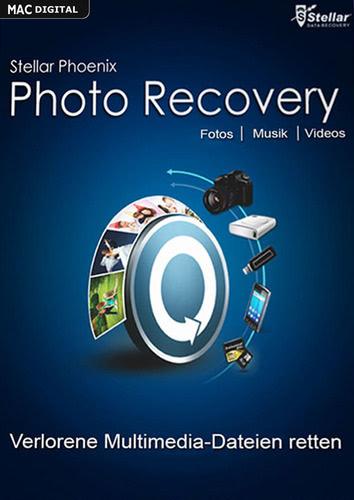 Verpackung von Stellar Phoenix Photo Recovery 6 für Mac [Mac-Software]