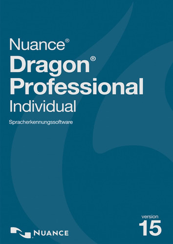 Verpackung von Nuance Dragon Professional Individual 15 - Educational [PC-Software]