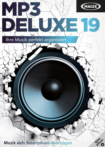 Verpackung von Magix MP3 deluxe 19 [PC-Software]