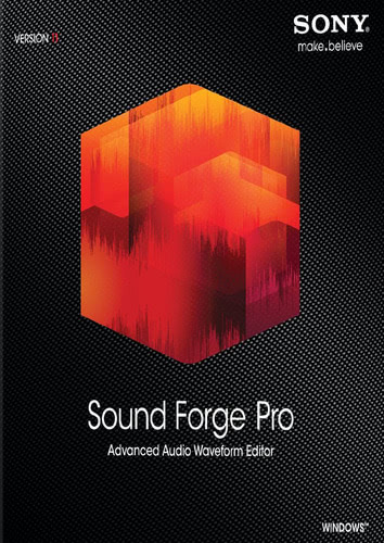 Packaging by Sony Sound Forge Pro 11 [PC-software]