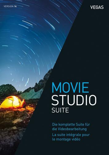 Verpackung von VEGAS Movie Studio 14 Suite [PC-Software]