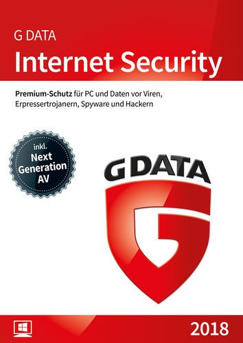 G Data Internet Security 2018 - 1 Benutzer - 12...
