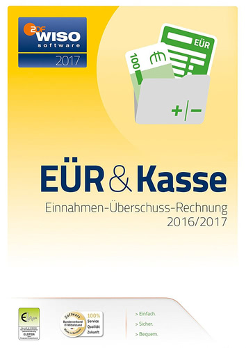 Verpackung von WISO EÜR & Kasse 2017 [PC-Software]