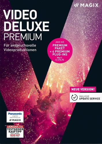 Verpackung von Magix Video Deluxe Premium (2018) [PC-Software]